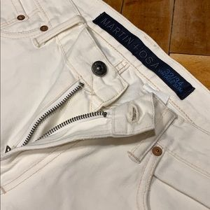 Martin + Osa White Jeans